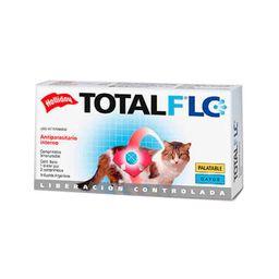 Antiparasitario Holliday Total Flc Gatos 2 Comprimidos 2 U