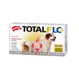 Antiparasitario Holliday Total Flc Perro Mediano 2 Comprimidos