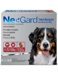 Antipulgas Nex Gard 25 - 50 Kg 1 Tableta (136 mg) 1 U