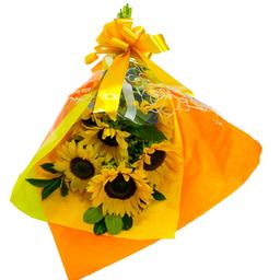 Bouquet Con Girasoles 6 U