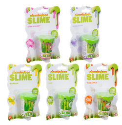 Juguete Nickelodeon Metallic Scent Slime 1 U