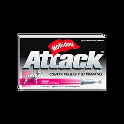 Tratamiento Attack Antipulgas y Garrapatas de 15 a 35 Kg 3.5 mL