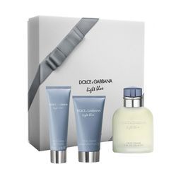 Perfume Hombre Estuche Dolce & Gabbana Light Blue Hombre 3pcs