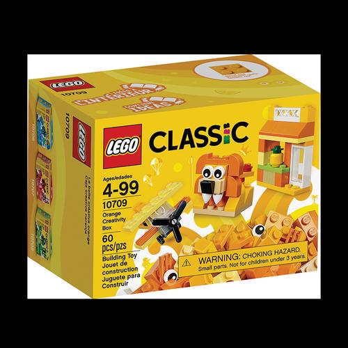 Caja Creativa Lego Naranja Construction Granel 4 - 99 60 U