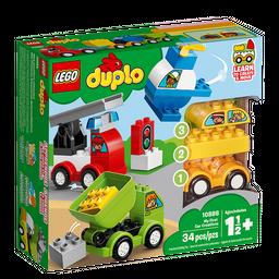 Duplo Lego Mis Primeros Vehículos 1½+ 34 U