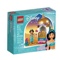 Princesas Lego la Pequeña Torre de Jasmin Disney 5+ 49 U