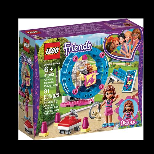 Friends Lego El Parque de Los Hámster de Olivia 6+ 81 U