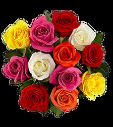 Bouquet de Rosas Impresionista
