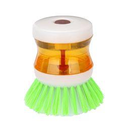 Cepillo Dispensador de Jabon Liquido