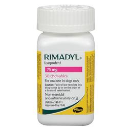 Rimadyl Tabletas 75 Mg/ Un