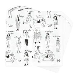 20 Servilletas Papel Diseño