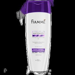 Shampoo Fiamme Matizante Sin Sal