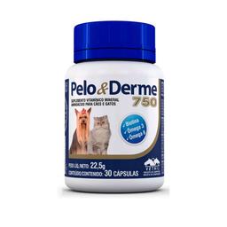 Nutracéutico Vetnil Pelo y Derme 750 60 Cápsulas