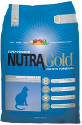 Alimento Para Gato Nutra Gold Indoor Senior Mayores 3 Kg