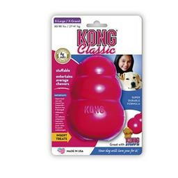 Juguete Para Perro Kong Caucho Classic Portapasabocas Large