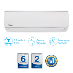 Aire Acondicionado Midea MSAFA-09CRN1 9000BTU 230V On/Off