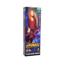 Figura de Acción Marvel Scarlet Witch Titan Hero Series