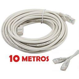 Cable De Red Rj45 Categoría 6 10 Mt