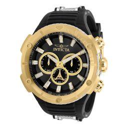 Reloj Invicta Aviator 50 mm Hombre Acero Inoxidable color Dorado