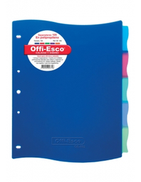 Separadores Offi-Esco OE-892 105 Paquete