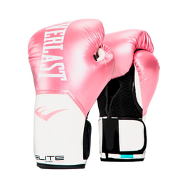 Guante Box Elite Pink/White 10 Oz