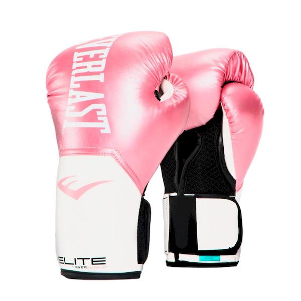 Guante Box Elite Pink/White 14 Oz