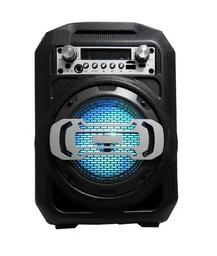 Parlante Altavoz Portatil Bluetooth Fm Usb Sd Aux Microfono