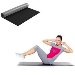 Colchoneta de fitness, yoga color negro
