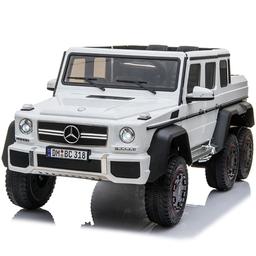 Carro Montable Mercedes Benz 6 x 6 Con Control Remoto