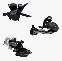 Combo Shimano Cambios/Shifter + Descarrilador + Tensor