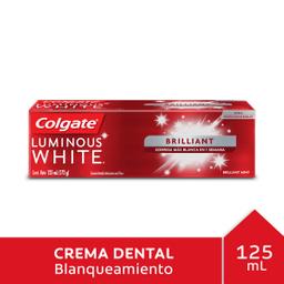 Colgate Crema Dental Luminous White Brilliant