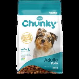 Chunky Alimento para Perro Adulto Pollo 25 Kg