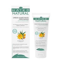 Crema Humectante Para Manos Con Filtros Solares Natural 80 g