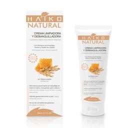 Crema Limpiadora y Desmaquilladora Hidratante Haiko Natural 80 g