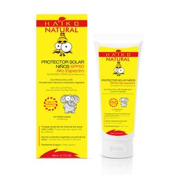 Protector Solar Para Niños Spf60 Con Extractos Vegetales 80 g