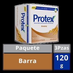 Protex Jabón Antibacterial Avena Barra