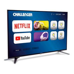 Televisor Challenger 55Tl50 Bt Netflix Tv T2