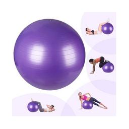 Balón pilates para ejercicio color Morado