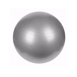 Balón pilates para ejercicio color  gris