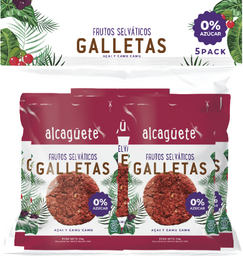 5 Und. Galletas Sin Azucar Frutos Selváticos 0% Azúcar