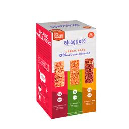 30 Und. Barrita de Cereal Sin Azúcar Surtidas 0% Azúcar