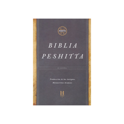 Biblia Peshita Marrón