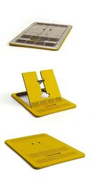 Valtia Soporte de Celular Color Amarillo