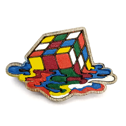 Valtia Pin de Rubik