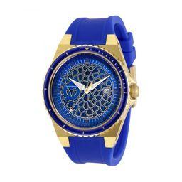 Technomarine Reloj de Hombre Resina Azul