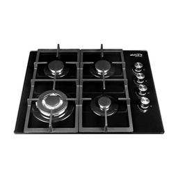 Abba Cubierta Gas Natural Vidrio Negro Master Chef G403Cipstb