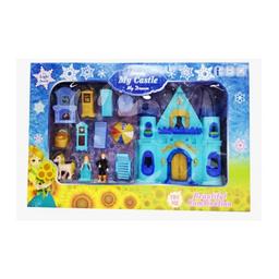 My Castle Set de Castillo Luz Princesa Azul Con Sonido