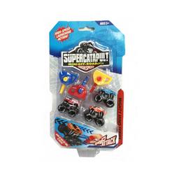 Supercatapult Set de Juego Lanzador de Camionetas Catapulta