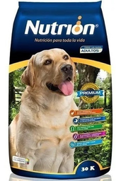 Nutrion Alimento Para Perro Adulto 30000 g