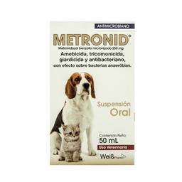 Metronid Suspensión Oral Frasco 50 mL